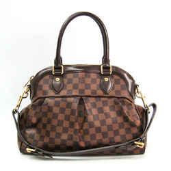 Louis Vuitton Damier Trevi PM N51997 Women's Shoulder Bag Ebene BF510549
