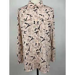 Karl Lagerfeld Size L Blouse