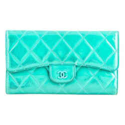 "Chanel Wallet Collection 7""l X 4""h X 1""w"