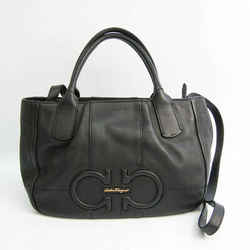 Salvatore Ferragamo Gancini AB-21D685 Women's Leather Handbag,Shoulder  BF531115