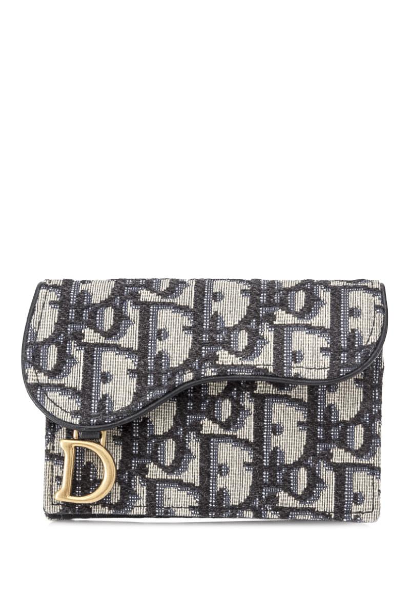 مرضي مخزون بعيد Dior Oblique Saddle Wallet Martimathis Com