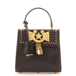 Icon Western Convertible Top Handle Bag Leather Small