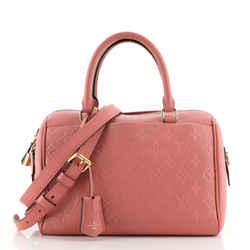 Speedy Bandouliere NM Handbag Monogram Empreinte Leather 25