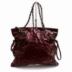 Chanel Bordeaux Jumbo CC Logo Cabas Chain Tote 857181