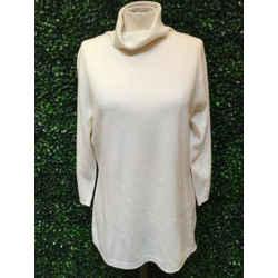 Escada Size Large Off-White Sweater