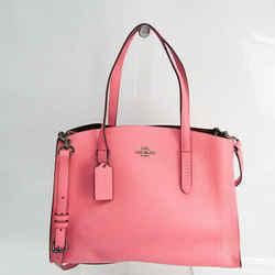 Coach Charlie 25137 Women's Leather Shoulder Bag,Tote Bag Pink FVEL000034