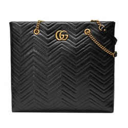 New Large Gg Marmont Matelasse Tote Bag