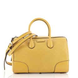 Bright Convertible Boston Bag Diamante Leather Small