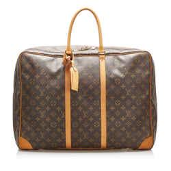 Brown Louis Vuitton Monogram Sirius 55 Bag