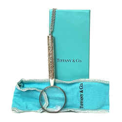 Tiffany & Co. Sterling Silver Magnifying Glass Necklace Rare Bnib