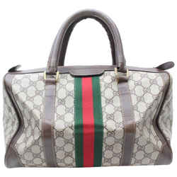 Gucci Sherry Monogram Web Supreme Boston 869617RL