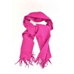 """Burberry: Vibrant Pink, 100% Wool & """"prorsum Knight"""" Logo Scarf 78"""" X 15"""" (qt)"""
