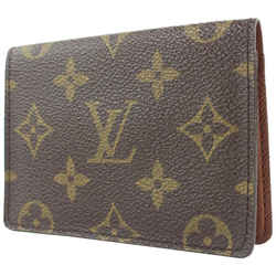 Louis Vuitton Monogram Card Case Wallet ID Holder 65lvs126