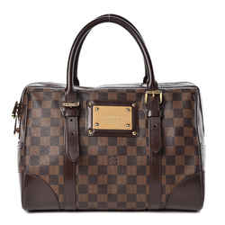 Louis Vuitton Damier Ebene Berkeley Bowler Satchel Bag 862245