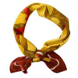 "Hermes Silk Scarf ""fleur de lotus"" 90 cm"