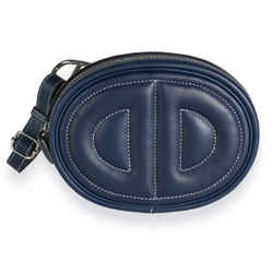 Hermes Bleu Encre Swift In The Loop Belt Bag PHW