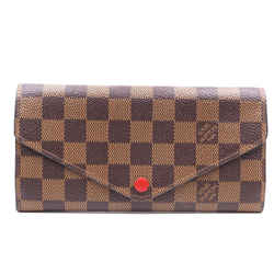 Louis Vuitton Damier Ebene Josephine With Insert Long Wallet
