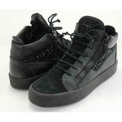 Giuseppe Zanotti Nicki Leather High-Top Sneakers