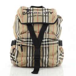 Wilfin Backpack Heritage Stripe Nylon Small