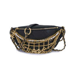 Limited Chanel 19A All About Chains Waist Bag Fanny Pack