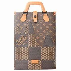 Auth Louis Vuitton Louis Vuitton Lv Squared Damier Giant Monogram Sack Plastic M