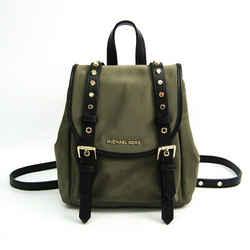 MICHAEL Michael Kors Signature 30S9LI1B0C Women's Nylon,Leather Backpac BF515875