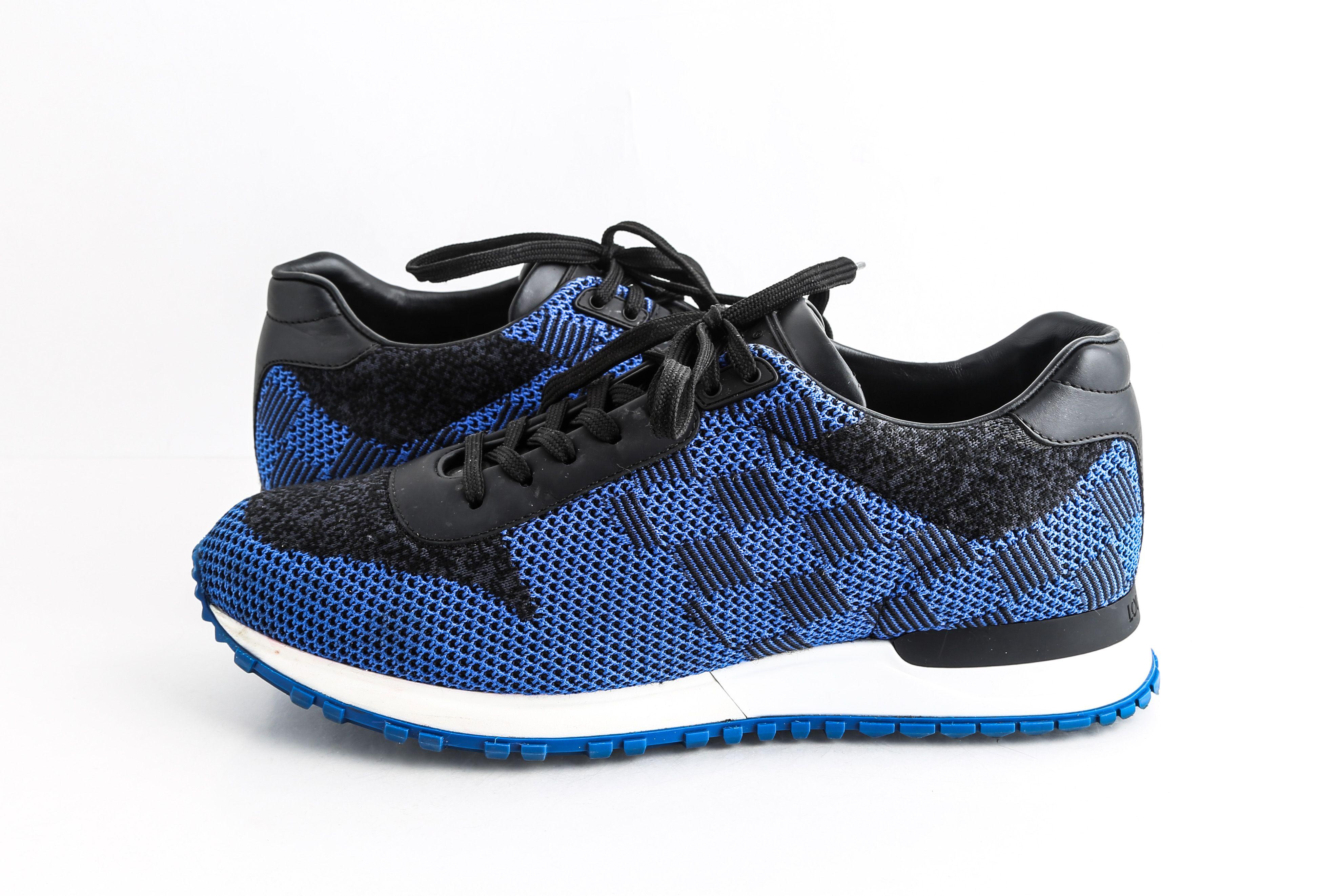 Louis Vuitton Blue Run Away Sneakers