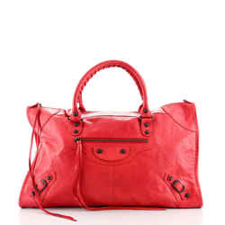 Work Classic Studs Bag Leather