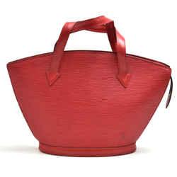 Vintage Louis Vuitton Saint Jacques PM Red Epi Leather Handbag LU168