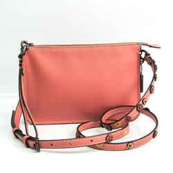 Coach Soho Crossbody Tea Rose 21037 Women's Leather Shoulder Bag Salmon BF518889