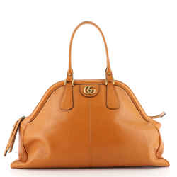 RE(BELLE) Top Handle Bag Leather Large