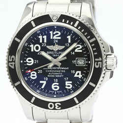 Polished BREITLING Super Ocean 2 42 Steel Automatic Mens Watch A17365 BF518344