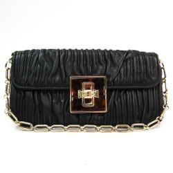 Bally Women's Leather Handbag Black BF516691