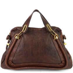 Paraty Medium Leather Shoulder Bag