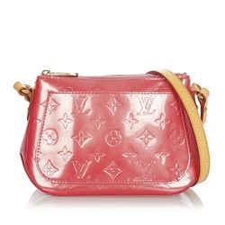 Vintage Authentic Louis Vuitton Red Vernis Minna Street France