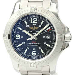 Polished BREITLING Colt Stainless Steel Quartz Mens Watch A74388 BF530147