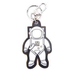 Louis Vuitton Silver Spaceman Key Ring Chain Charm