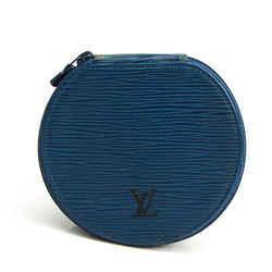 Louis Vuitton Epi Ecran Bijou 12 M48205 Jewelry Case Toledo Blue Epi Le BF526825