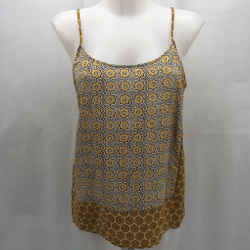 Joie Yellow Pattern Tank Large