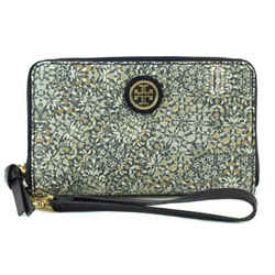 Nwt Tory Burch Kerrington Smartphone Wristlet Wallet, Multicolor