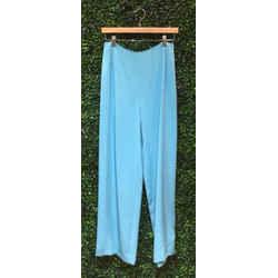 Oscar de la Renta Size 8/10 Turquoise Pants