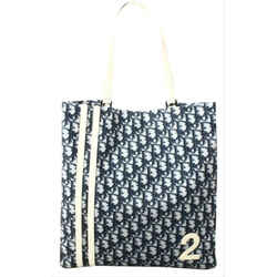 Dior      No. 2 Blue Monogram Trotter Shopper Book Tote Bag 1CDS128