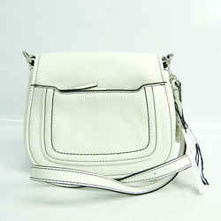 Marc Jacobs M0013049 Women's Leather Shoulder Bag White BF531742