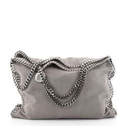 Falabella Fold Over Bag Shaggy Deer