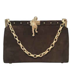 Barry Kieselstein-cord Brown Suede Handbag
