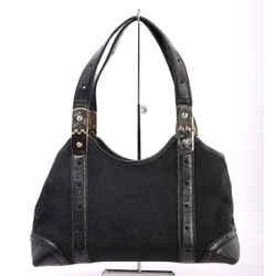Gucci Horsebit Monogram Shoulder Bag