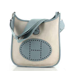 Evelyne Bag Gen III Toile and Leather PM