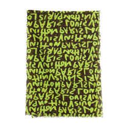 Louis Vuitton Stephen Sprouse Neon Graffiti Monogram Scarf