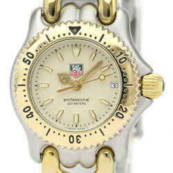 Polished TAG HEUER Sel Professional 200M Gold Plated Steel Watch WG1421 BF525187
