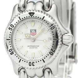 Polished TAG HEUER Sel Professional Steel Quartz Ladies Watch WG1412 BF518928